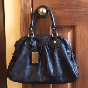 Brown MBMJ handbag.